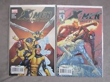 X-MEN FIRST CLASS (2007-2ND SERIES) # 15, 16 BY JEFF PARKER W/ SPIDER-MAN