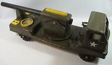 Vintage Ny-lint N-2400 Electronic Cannon Toy Truck 1950's Battery Operated