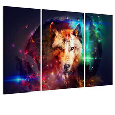 HD Canvas Prints Home Decor Wall Art Painting Picture Magic Wolf Unframed New