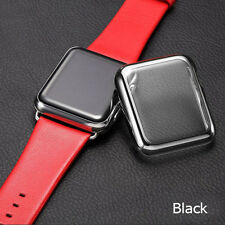 Full Body Cover Metal Case & Built in Glass Screen Protector Apple Watch 38/42mm