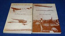 Taschenbuch der Luftflotten 1+2 Die Luftschiffe 1914 / Die Flugzeuge 1914 Olms