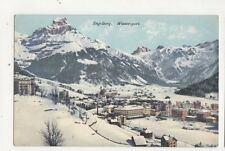 Engelberg Wintersport Vintage Postcard Switzerland 388a