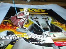 Deagostini star wars figurine collection issue 15 general grievous-cyborg