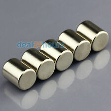 5pcs N50 Strong Small Round Cylinder Neodymium Magnets 8mm x 10mm Rare Earth Neo