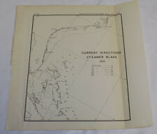 1890 Coast & Geodetic Survey Map/ CAPE HATTERAS NC to CAPE CANAVERAL FL, 1888 /A