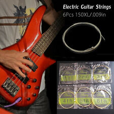 6X 150XL/.009in Brass Amp Electric Guitar Strings Set For Fender I60 Instrument