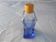 Blue Coloured Glass Bottles 35ml includes Cap and Stopper 9 Bottles.