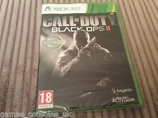 MICOROSOFT XBOX 360 CALL OF DUTY BLACK OPS II 2 GAME NEW AND SEALED