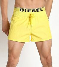 DIESEL Beachwear 'Seaside' Men's Swim / Bathing Trunks Board Shorts M Yellow NWT