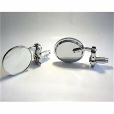 RETROVISEUR MOTO CLASSIC GUIDON MOTO CHROME  MM34-RM-024-CH MOTOMIKE 34
