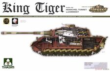 1/35 Takom German Hvy Tank King Tiger Henschel Gun Turret (with Interior) #2045