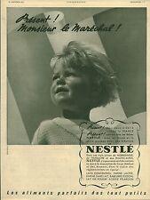 """Publicité Ancienne """" Bébé NESTLE  1942 """"  ( P 37 )"""