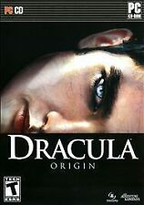 DRACULA ORIGIN (2008) PC CD-ROM NEW & FACTORY SEALED