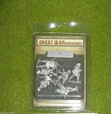 GREAT WAR MINIATURES British Officers & NCO's 1918 B1