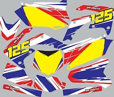 Graphic Kit for 1993-1994 Honda CR125 CR 125 shrouds fender plastic decals