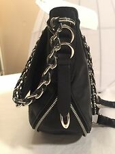 "Rag & Bone ""Bradbury""leather Black with Soft Chain Strap NWT N Sleeper Bag"