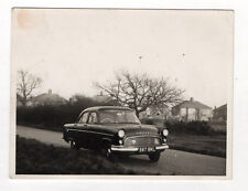 PHOTO ANCIENNE Snapshot Voiture Automobile Auto Ford Consult Vers 1950