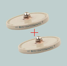 1000 pF 4 kV 30 kVAr LOT OF 2 HIGH VOLTAGE DOORKNOB CERAMIC CAPACITORS K15Y-1