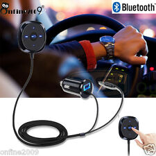 Bluetooth4.0 3.5mm Wireless Car Receiver Kit Music Adapter Handsfree Car Speaker