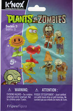 K'NEX SUNFLOWER Plants vs. Zombies Series 3 (New In Bag)