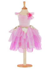 Girls Rose Petal Fairy Dress by Travis - Pink Fairy Dress Up Costume 3/5yrs
