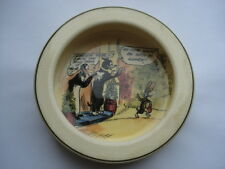 RARE ROYAL DOULTON DAILY MIRROR PIP SQUEAK&WILFRED CHINA BABYS BOWL