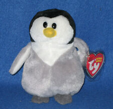 TY SLAPSHOT the PENGUIN BEANIE BABY - MINT TAGS - RETIRED