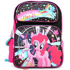 "My Little Pony Large School Backpack 16"" Grils Book Bag -Rainbow Magical Friends"