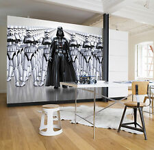 Giant wallpaper 368x254cm Star Wars Imperial Force bedroom wall mural black whit