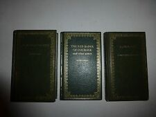 3 Lot Peebles Classics, Robinson Crusoe,Red Badge of Courage,Kidnapped, HB B193