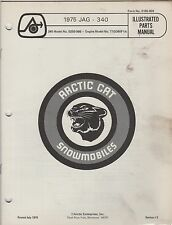 1975 ARCTIC CAT SNOWMOBILE JAG 340 P/N 0185-059 PARTS MANUAL (057)