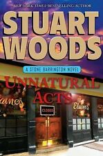 Unnatural Acts by Stuart Woods HARDCOVER LARGE TYPE