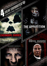 Horrifying Thrills 4 Film Favorites DVD Chernobyl Diaries/The Rite/Apparition