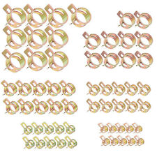 60Pcs Fuel Line Hose Spring Clip Water Pipe Air Tube Clamps 6/9/10/12/14/15mm