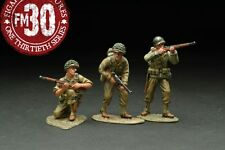 FIGARTI PEWTER WW2 AMERICAN RMA-012 RED BULL PATROL UNDER ATTACK SET C MIB