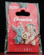 Disney WDI ~ Lilo and Stitch Valentine's Day Characters Holidays LE 250 Pin