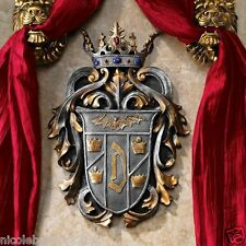 Vlad the Impaler Count Dracula Vampire Regal Crown Coat of Arms Wall Decor
