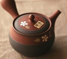 Japanese pottery Tea pot KYUSU Tokoname ware sakura made in Japan