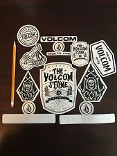 NEW LOT OF VOLCOM STICKERS SNOW SURF SKATEBOARD TRUE TO THIS