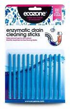 EcoZone enzimática de cerebros de limpieza Palos 12 Pack Ez4 evita bloqueos y olores