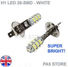 2x H1 26-SMD LED Bulbs 1210 Xenon White - Fog Lights - Daytime Running Lights UK
