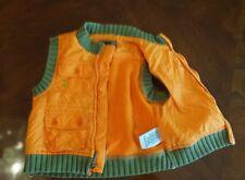 Dkny boys  orange 12m vest