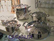 Lagostina Accademia Five Ply Batteria di Pentole 5 Pz-Cookware Set Made Italy