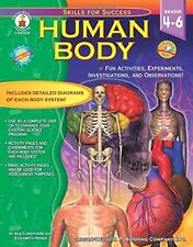 Human Body, Grades 4 - 6: Fun Activities, Experiments, Investigations, and Obs..