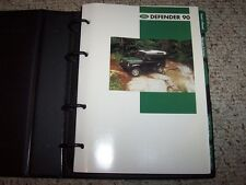 1996 Land Rover Defender 90 Factory Original Owner's Owners Manual