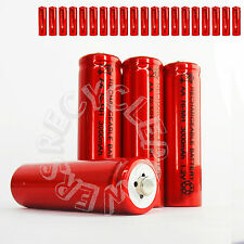 20 x AA LR6 UM3 3000mAh Ni-MH Rechargeable Battery RED Cell 2A