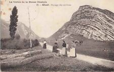 ✚757✚ German Field Postcard Feldpost WW1 FRANCE GIVET MEUSE LANDWEHR 8. RESERVE