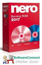 Nero 2017 Burning ROM NEW & SEALED BURN CD DVD AUDIO VIDEO GENUINE GUARANTEE!