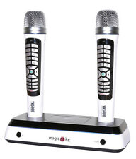 KORTEK YK5000 DUAL WIRELESS KARAOKE MIC+5400 SONGS+RECORDING+20M RANGE