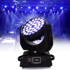 36 x 10W RGBW (4in1) LED Zoom Moving Head 360W Wash Stage Light DMX 16CH Party